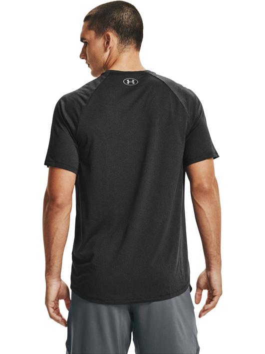 Siyah Erkek UA Tech™ 2.0 Kısa Kollu Tişört