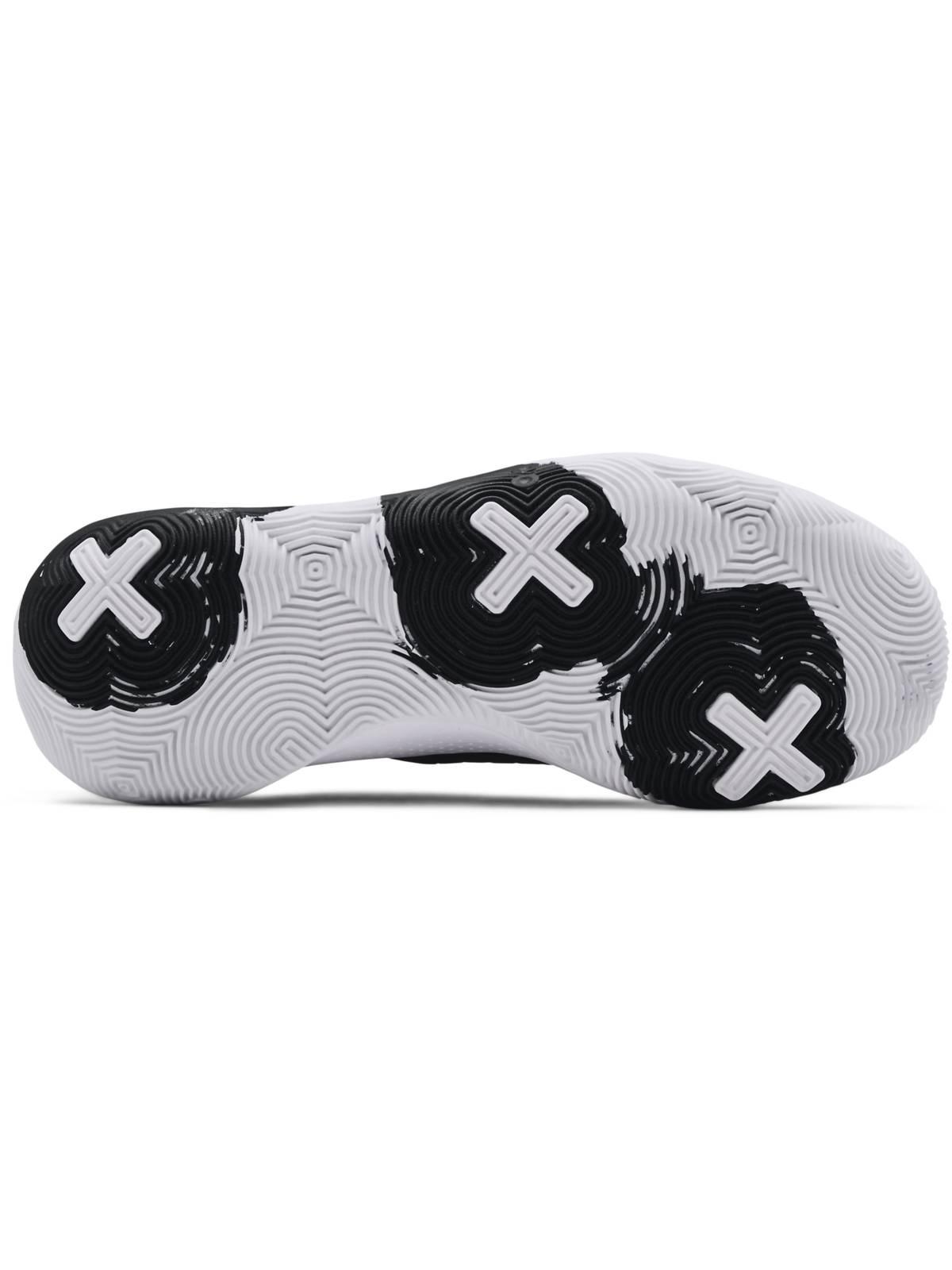Unisex UA Spawn 3 Basketbol Ayakkabısı Siyah