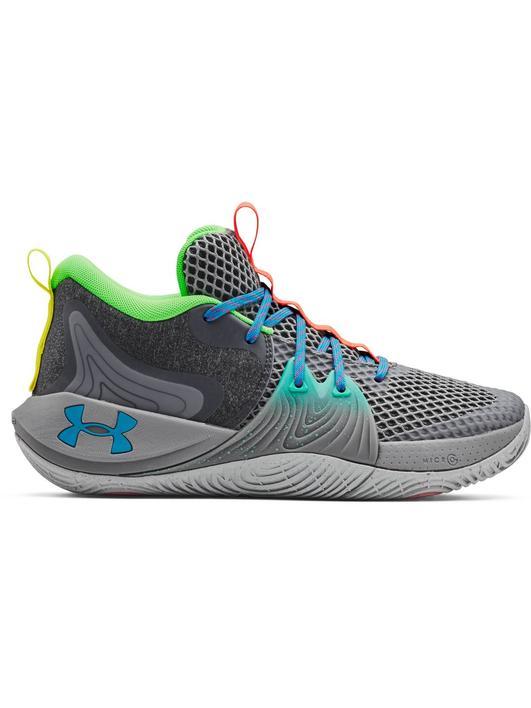 Gri Unisex UA Embiid One GM PT Basketbol Ayakkabısı