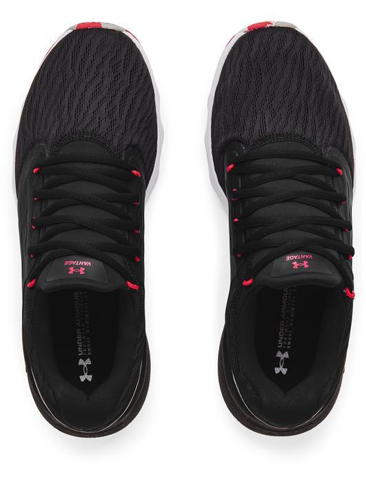 Siyah Erkek UA Charged Vantage Marble Koşu Ayakkabısı
