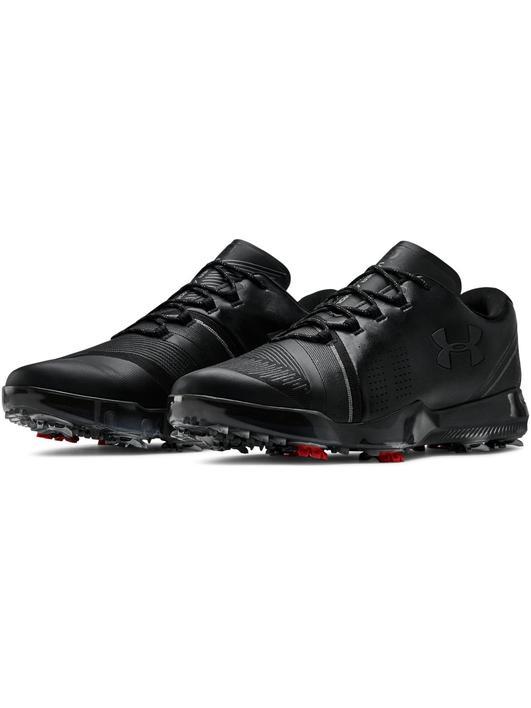 Siyah Erkek UA Spieth 3 Golf Ayakkabısı