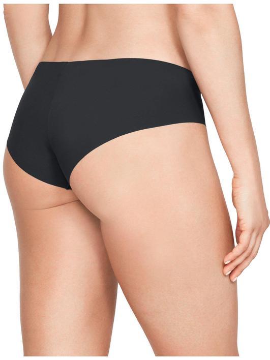 Siyah Kadın UA Pure Stretch Hipster 3'lü Paket