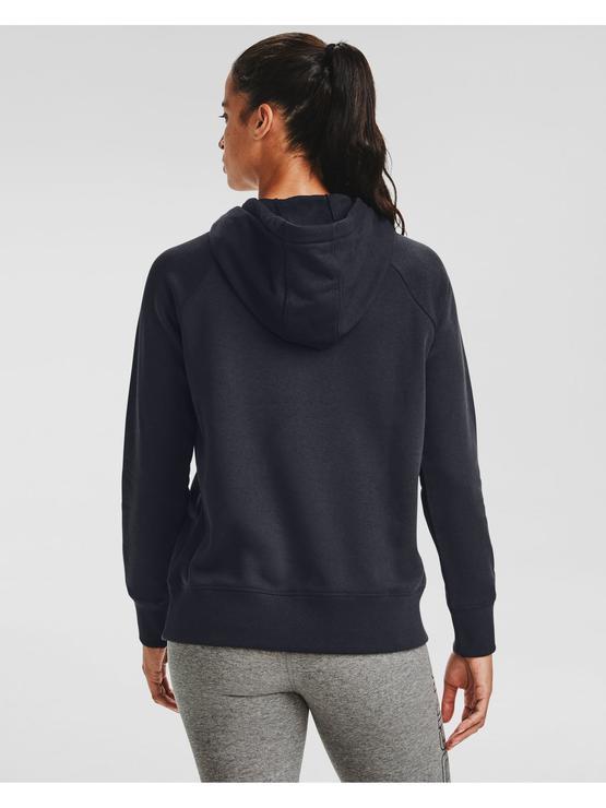 Kadın UA Rival Fleece Logo Kapüşonlu Üst