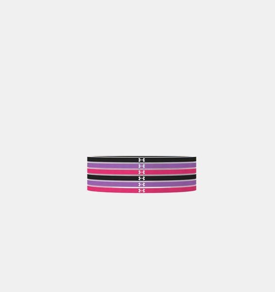 Siyah Kız Çocuk UA Mini Saç Bandı – 6'lı Paket