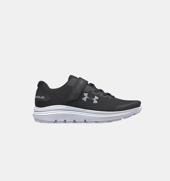 Siyah Çocuk UA Surge 2 AC Koşu Ayakkabısı