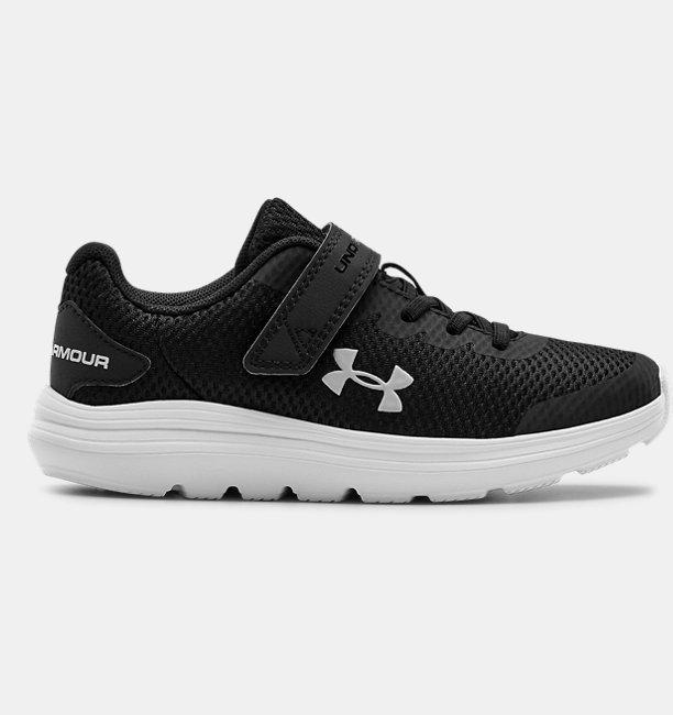 Çocuk UA Surge 2 AC Koşu Ayakkabısı Siyah
