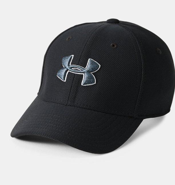 Erkek Çocuk UA Blitzing 3.0 Şapka Siyah