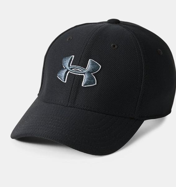 Siyah Erkek Çocuk UA Blitzing 3.0 Şapka