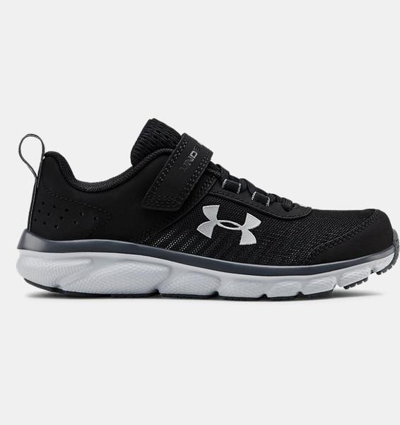 Siyah Çocuk UA Assert 8 AC Koşu Ayakkabısı