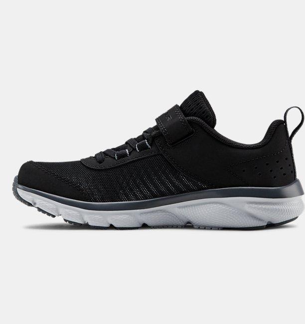 Çocuk UA Assert 8 AC Koşu Ayakkabısı Siyah