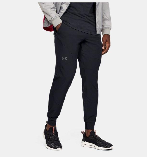 Erkek UA Flex Woven Jogger Eşofman Altı Siyah