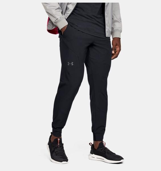 Siyah Erkek UA Flex Woven Jogger Eşofman Altı
