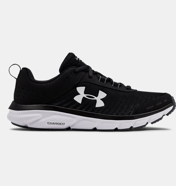 Kadın UA Charged Assert 8 Koşu Ayakkabısı Siyah