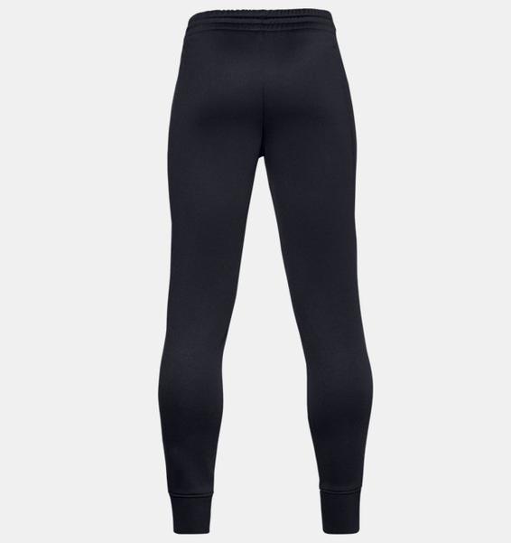 Siyah Erkek Çocuk Armour Fleece® Jogger Eşofman Altı