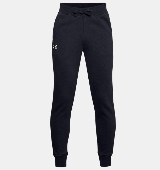 Erkek Çocuk UA Rival Cotton Eşofman Altı Siyah