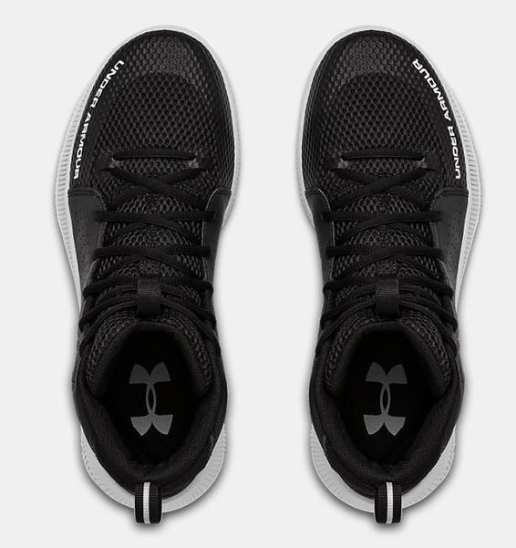 Siyah Erkek UA Jet Basketbol Ayakkabısı