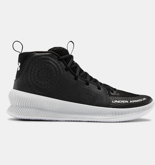Erkek UA Jet Basketbol Ayakkabısı Siyah