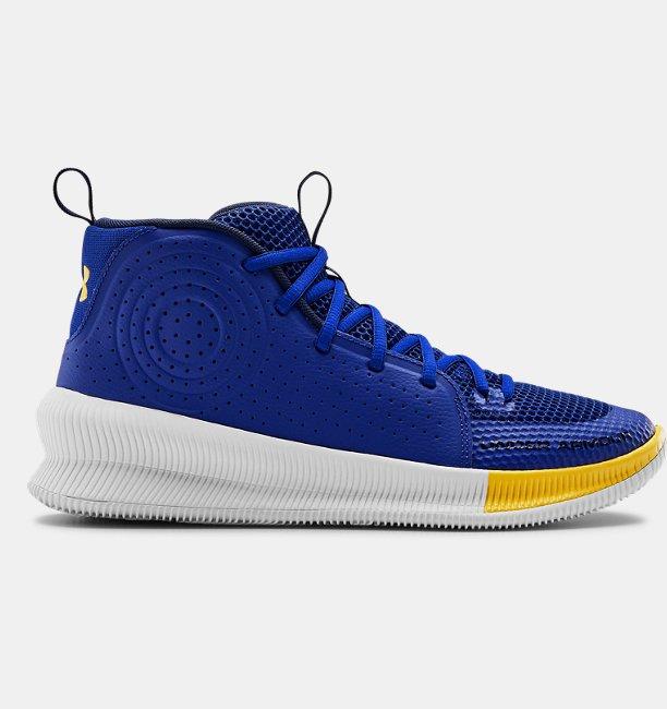 Erkek UA Jet Basketbol Ayakkabısı Mavi