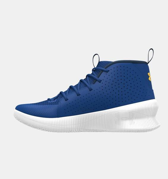 Mavi Erkek UA Jet Basketbol Ayakkabısı