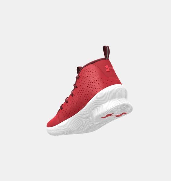 Kırmızı Erkek UA Jet Basketbol Ayakkabısı