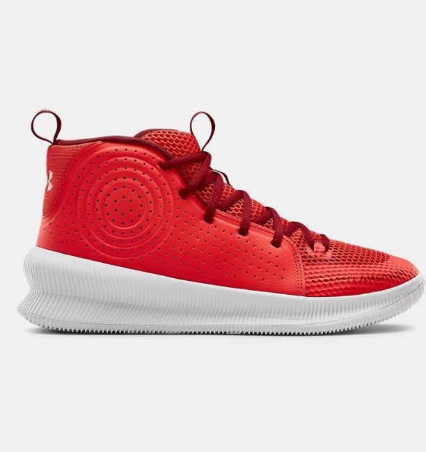 Erkek UA Jet Basketbol Ayakkabısı Kırmızı