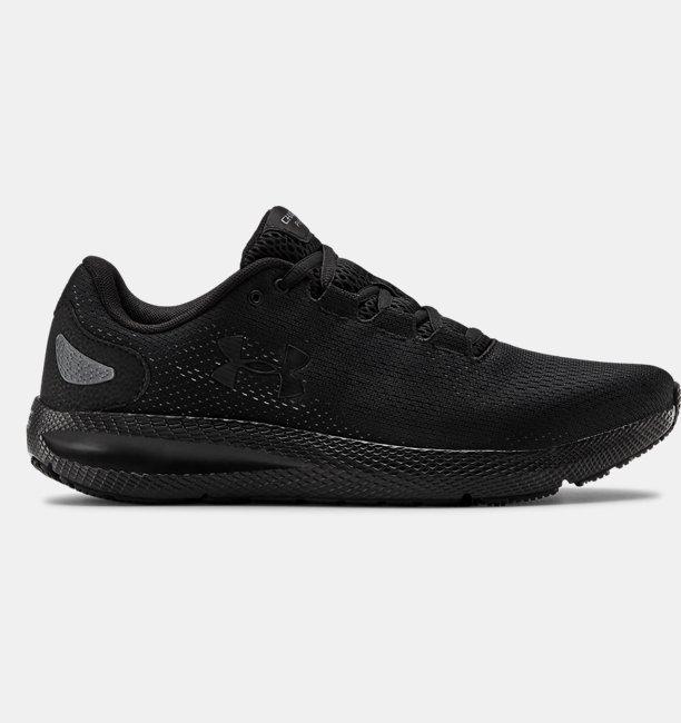 Erkek UA Charged Pursuit 2 Koşu Ayakkabısı Siyah