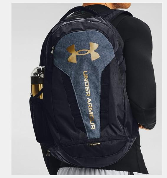 Siyah UA Hustle Sırt Çantası