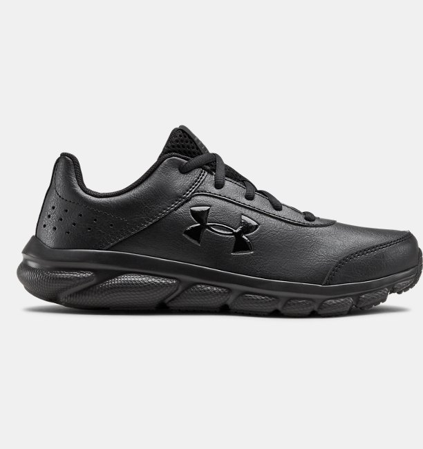 UA Assert 8 Uniform Synthetic Sportstyle Ayakkabı Siyah
