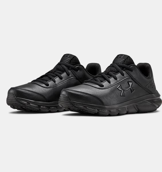 Siyah UA Assert 8 Uniform Synthetic Sportstyle Ayakkabı