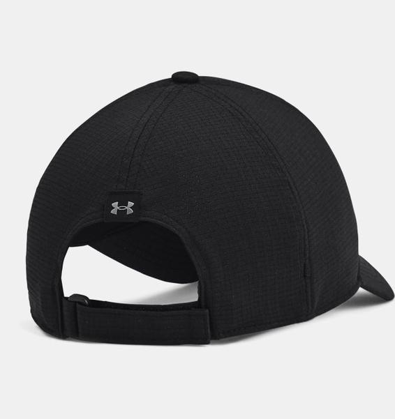 Siyah Erkek UA Iso-Chill ArmourVent™ Adjustable Şapka