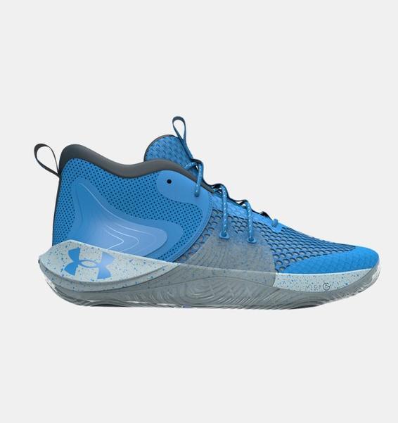 Mavi Unisex UA Embiid One Basketbol Ayakkabısı