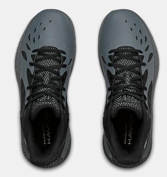 Gri UA HOVR™ Havoc 3 Basketbol Ayakkabısı