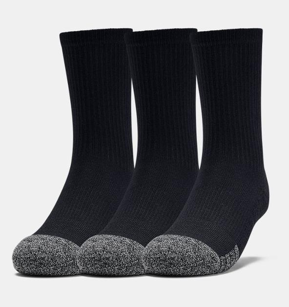 Genç HeatGear® Crew Çorap 3'lü Paket