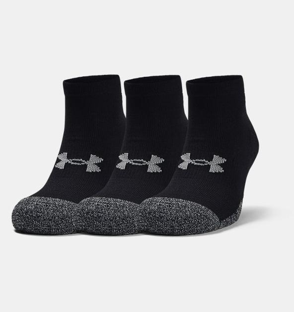 Yetişkin HeatGear® Lo Cut Çorap 3'lü Paket