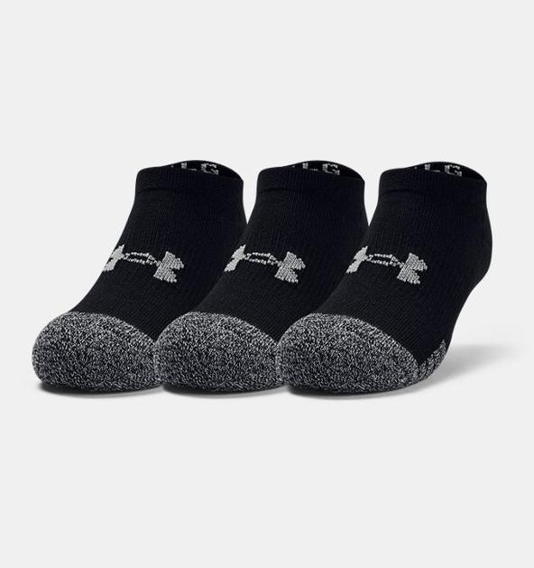 Genç HeatGear® No Show Çorap 3'lü Paket