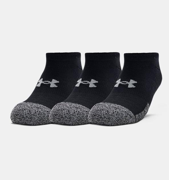 Yetişkin HeatGear® No Show Çorap 3'lü Paket