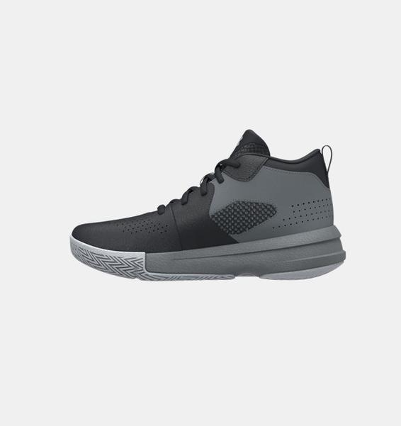 Siyah Çocuk UA Lockdown 5 Basketbol Ayakkabısı