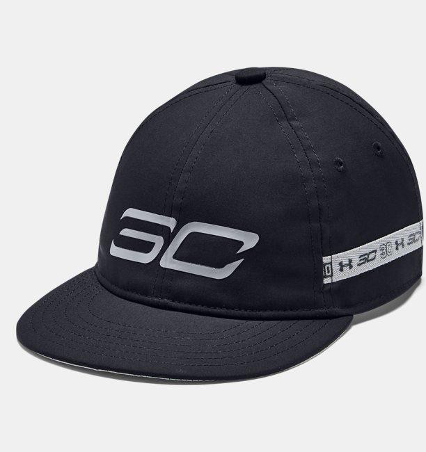 Erkek Çocuk SC30™ Crossover Şapka Siyah