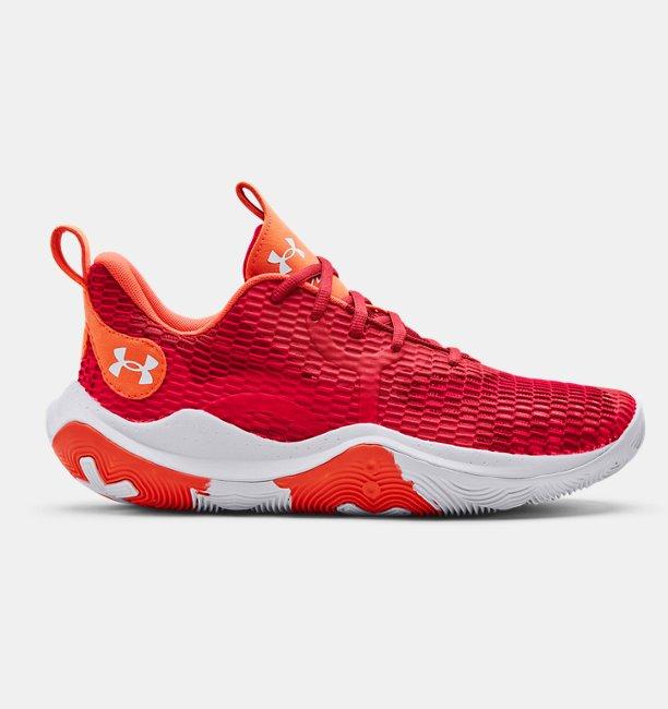 Unisex UA Spawn 3 Basketbol Ayakkabısı Kırmızı