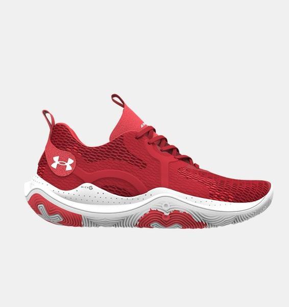 Kırmızı Unisex UA Spawn 3 Basketbol Ayakkabısı