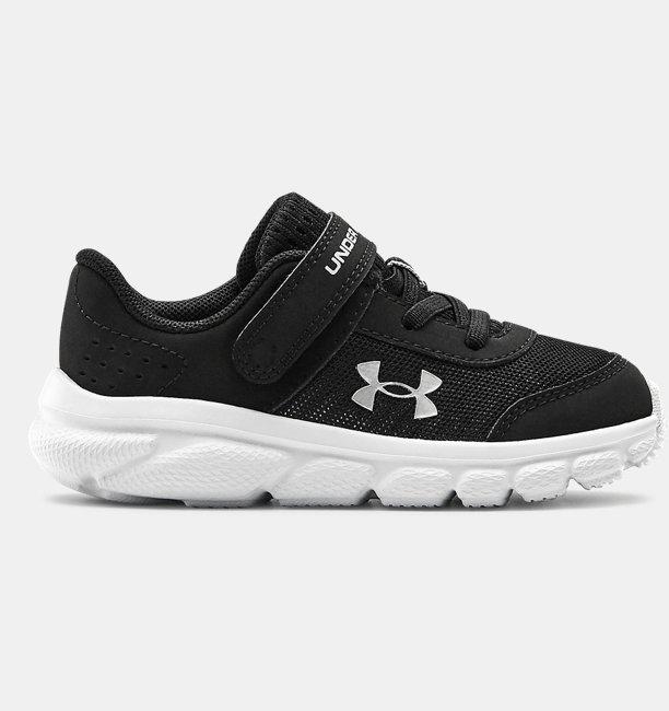 Erkek Bebek UA Assert 8 Koşu Ayakkabısı Siyah