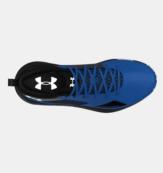 Mavi Yetişkin UA Lockdown 5 Basketbol Ayakkabısı