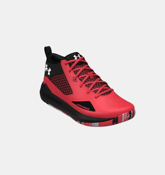 Kırmızı Yetişkin UA Lockdown 5 Basketbol Ayakkabısı