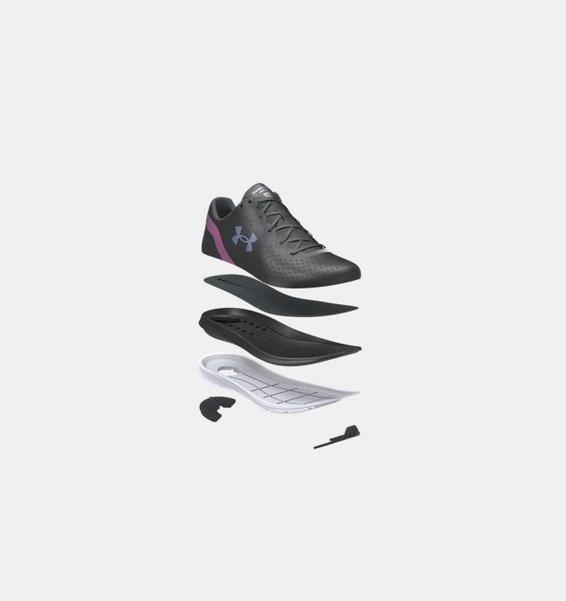 Siyah Kadın UA Charged Impulse Shft Koşu Ayakkabısı