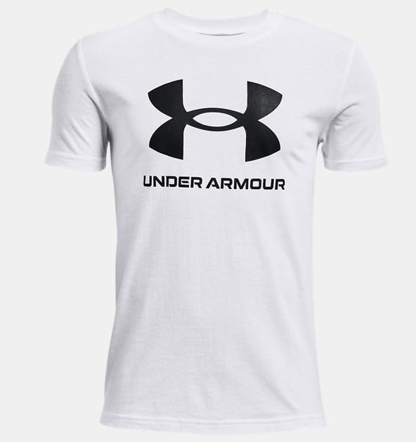 Çocuk UA Sportstyle Logo Kısa Kollu