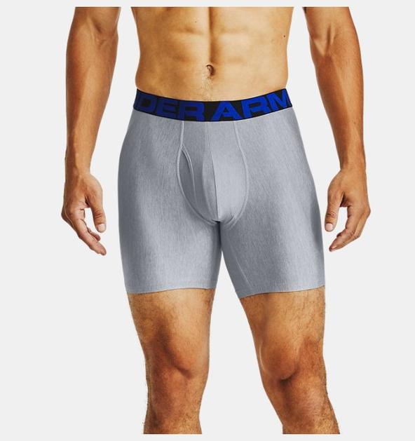 """Erkek UA Tech™ 6"""" Boxerjock® – 2'li Paket"""