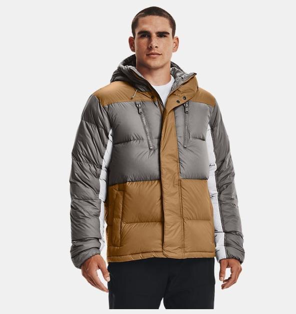 Erkek ColdGear® Infrared Down Blocked Mont