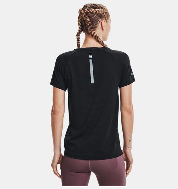 Kadın UA Seamless Run Kısa Kollu
