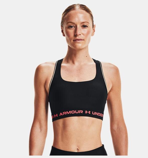 Kadın Armour® Mid Crossback 80s Spor Sütyeni