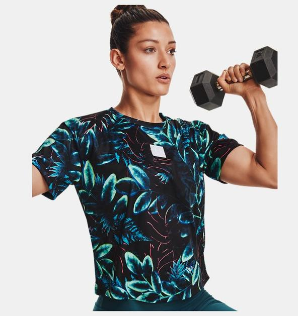 Kadın UA Printed Graphic Tişört
